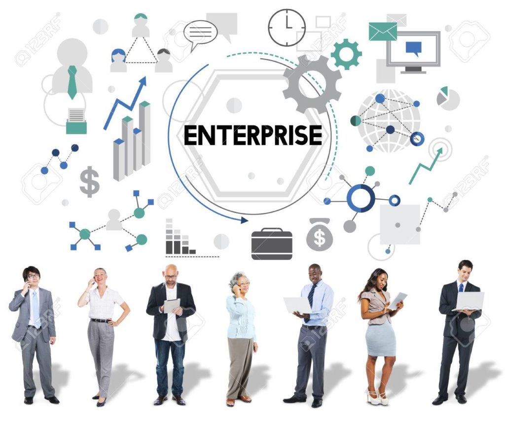 Enterprise Company Corporation Firm Operation Concept